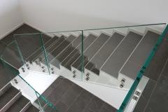 Parapetti scale interne Montegrino